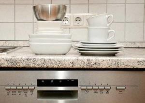 посуда чистая