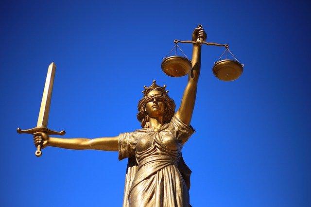 статуя правосудие