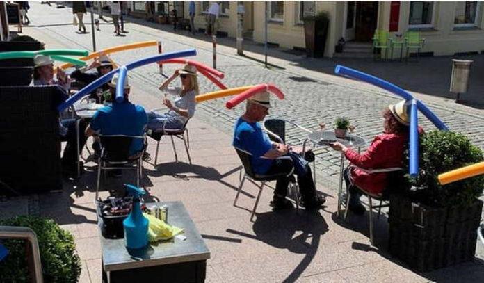 в германии шляпы в кафе