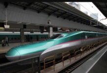 китайский скоростной поезд