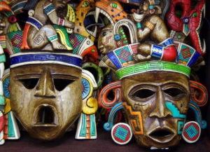 маски майя