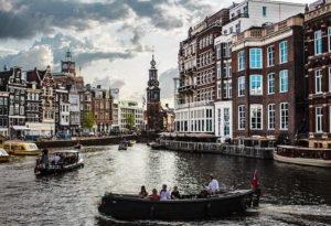 водная прогулка амстердам